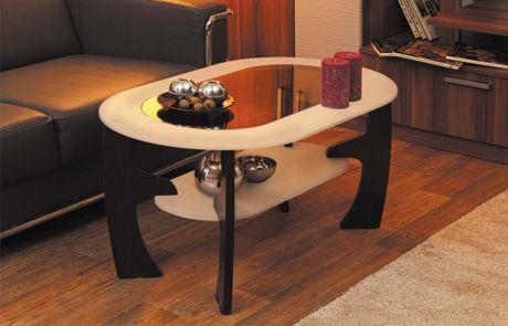Журнальный столик Маджеста - 2 со стеклом