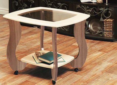 Журнальный столик Сатурн - М01 со стеклом