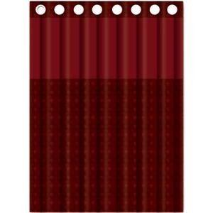 Красная шторка для ванной Gappo G8653