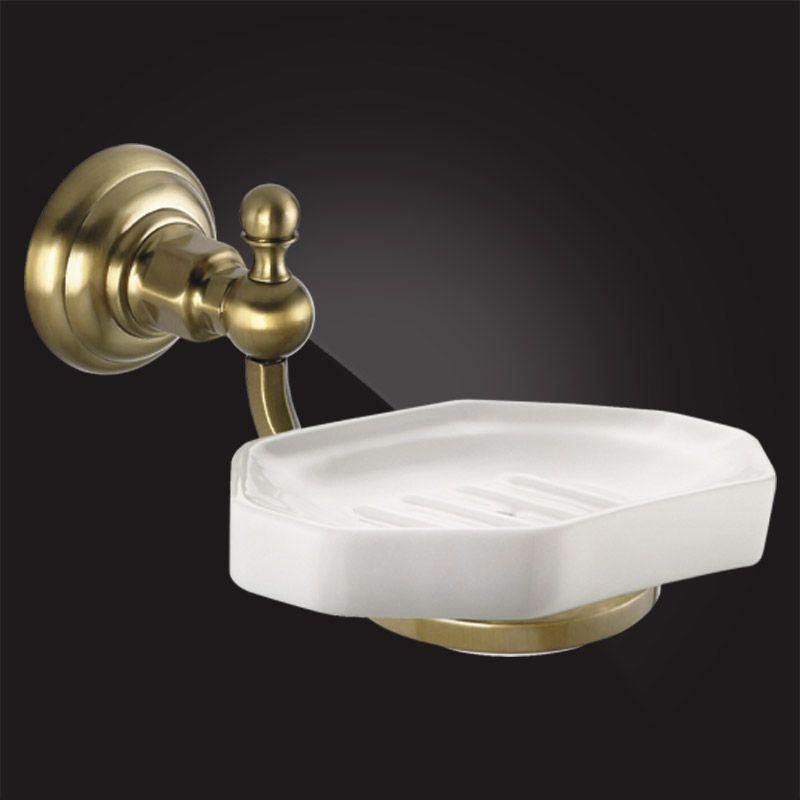Мыльница для ванной с держателем Elghansa Praktic PRK-451 Bronze