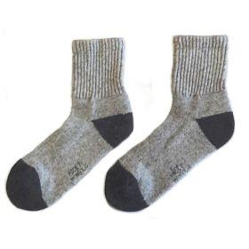 Носки монгольские из шерсти яка  [Серые]