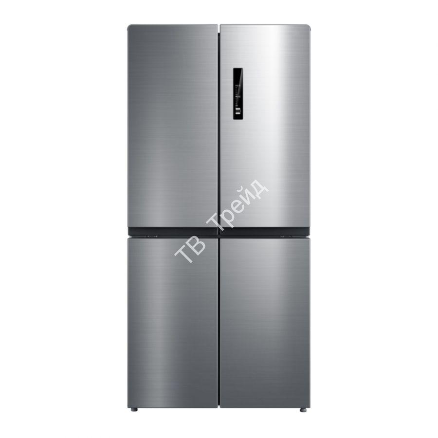 Четырехдверный холодильник Korting KNFM 81787 X