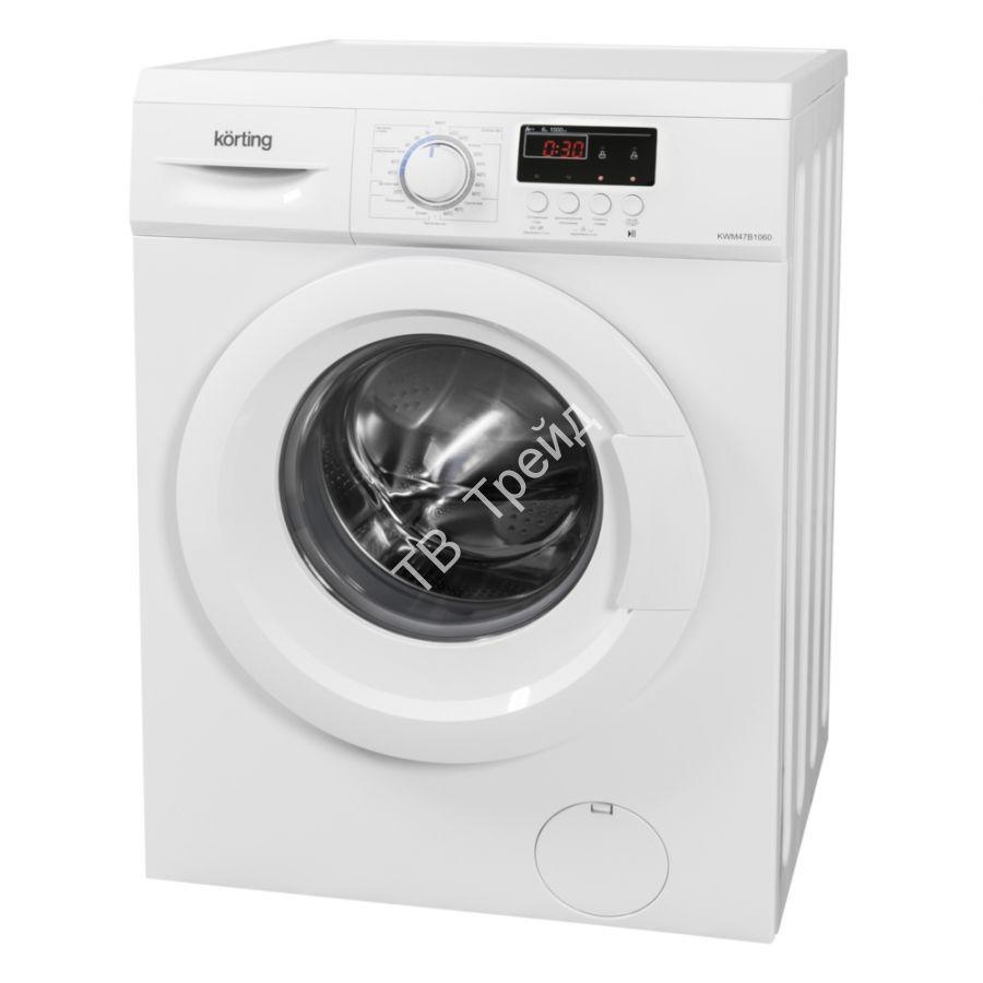 Узкая стиральная машина Korting KWM 47B1060