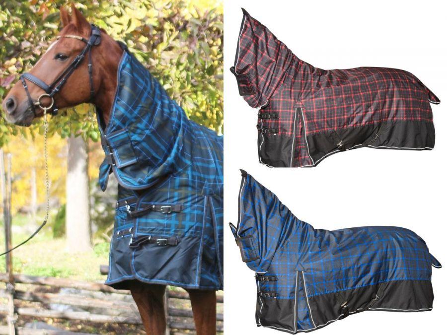 """Непромокаемая попона с полной шеей """"Horse Comfort"""" на утеплителе 300 г/м Рекомендуем"""
