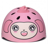 Детский защитный шлем Xiaomi Children Helmet ( Обезьянка ) ( Розовый )