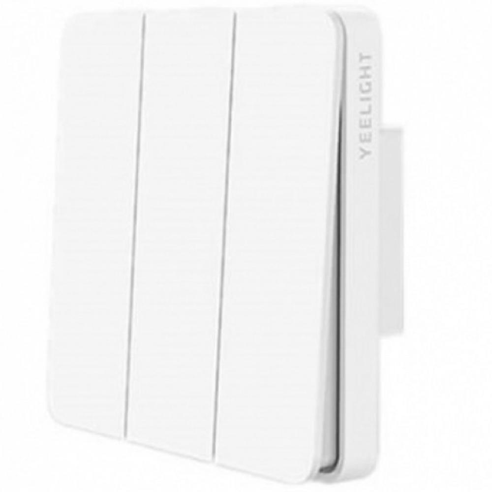 Настенный выключатель Xiaomi Yeelight Smart Switch Light тройной (YLKG14YL)
