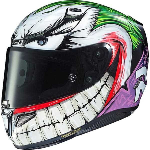 HJC RPHA 11 DC COMICS JOKER MC48