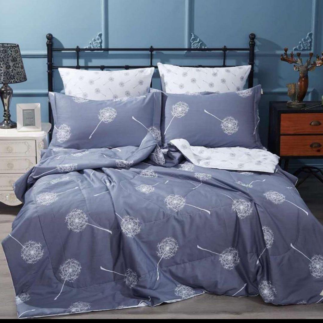 Постельное белье с Одеялом из 100% хлопка в сатиновом плетении