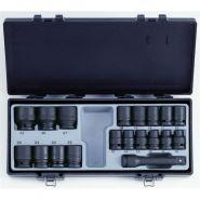 4193 Набор головокударных коротких 10-32 ммFORCE, 19 предметов