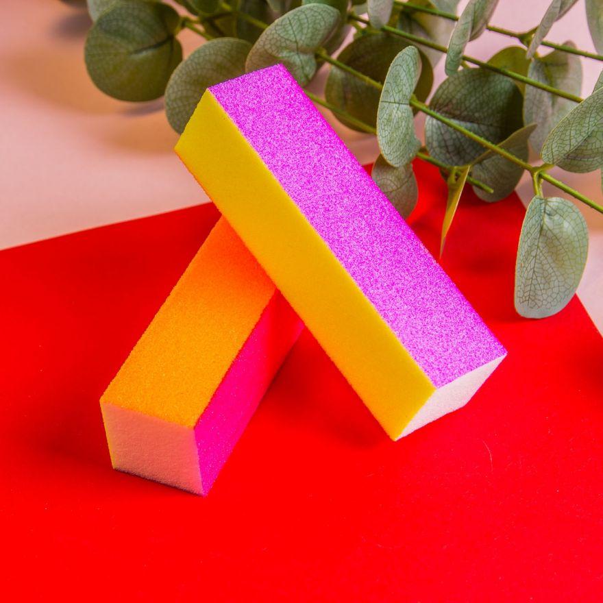 Блок шлифовочный (баф) четырехсторонний