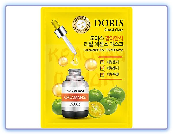 Doris Calamansi Real Essence Mask