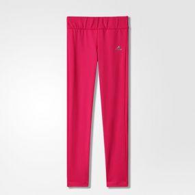 Леггинсы adidas Young Girls Climawarm Tight розовые