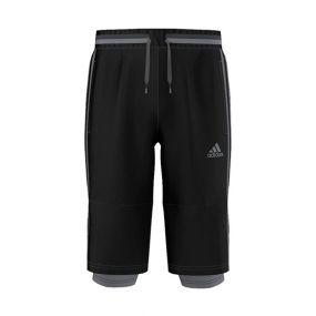 Детские футбольные бриджи adidas Condivo 16 3/4 Pants Young чёрные