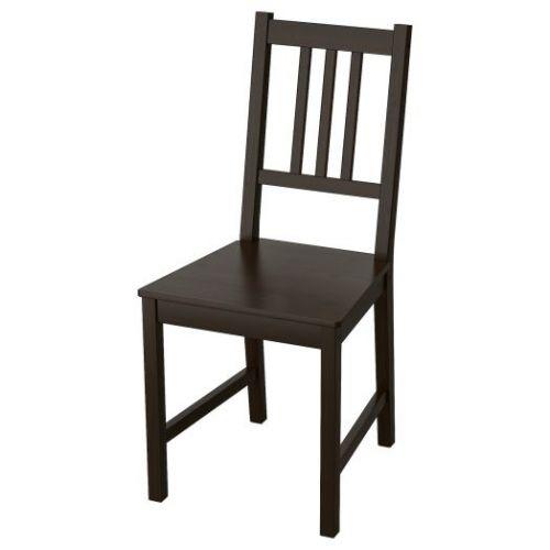 STEFAN СТЕФАН, Стул, коричнево-чёрный - 603.609.47