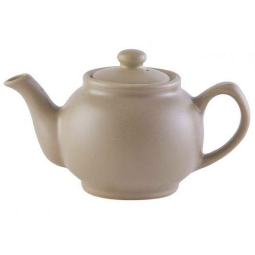 Чайник заварочный Matt Glaze 1,1 л бежевый