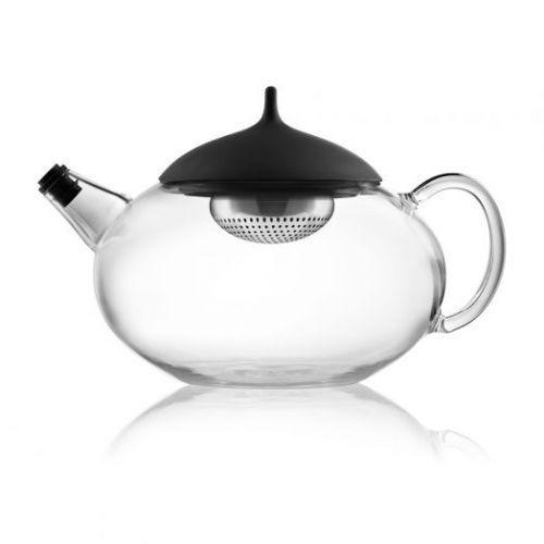 Чайник с механизмом для заваривания 1 л стеклянный