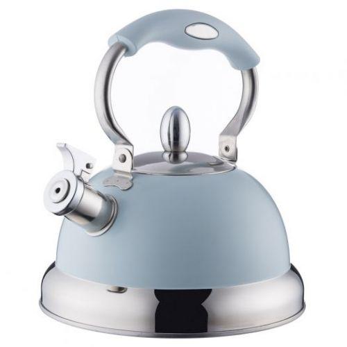 Чайник со свистком Living голубой