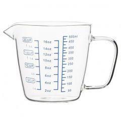 Чаша мерная 0,5 л стеклянная