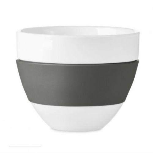 Чашка для латте AROMA,300 мл, тёмно-серая