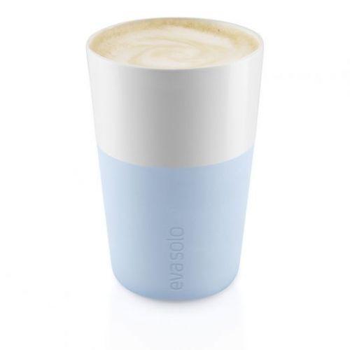 Чашки для латте 2 шт 360 мл голубой