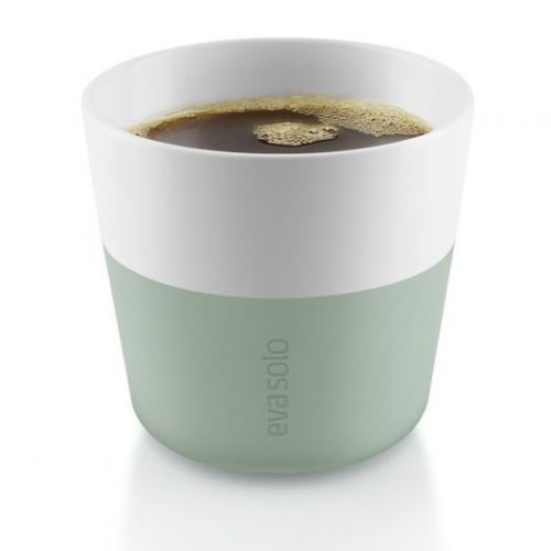 Чашки для лунго 2 шт 230 мл светло-зеленые