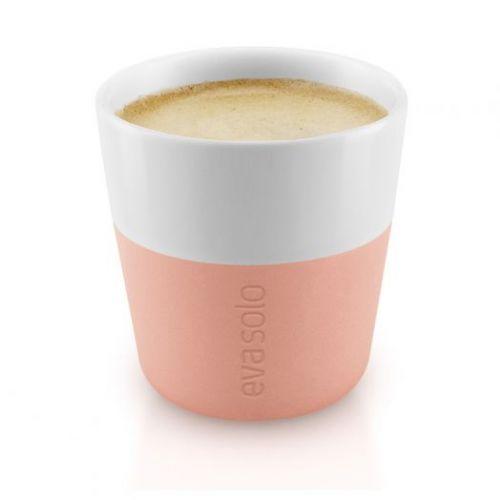 Чашки для эспрессо 2 шт 80 мл персиковый