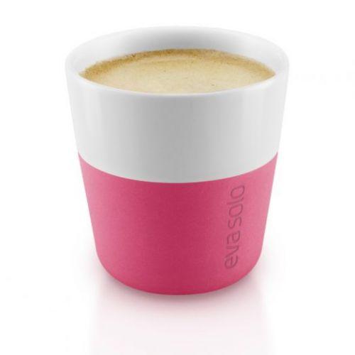 Чашки для эспрессо 2 шт 80 мл розовые
