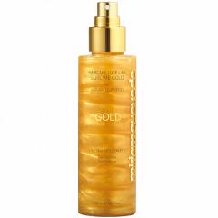 Золотой спрей-лосьон для ультра блеска волос