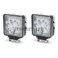 Светодиодные фары комплект K-ASK9-27W SPOT дальнего света