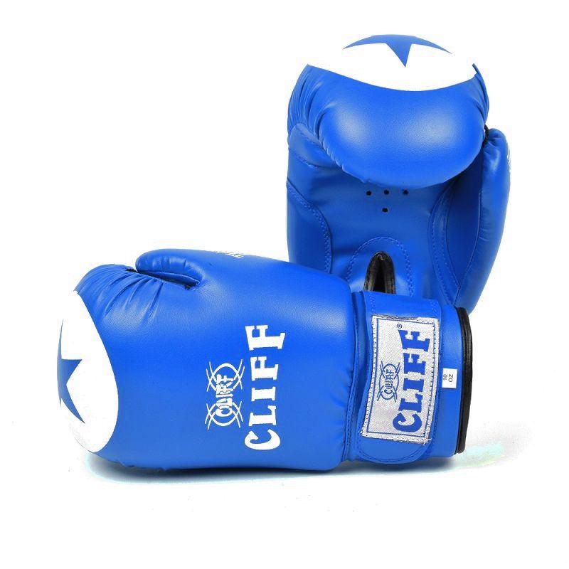 Перчатки боксерские CLIFF,TIGER STAR (DX), 14 oz синие