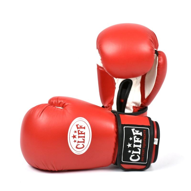 Перчатки боксерские CLIFF, DRAGON Classic (FLEX)  8 oz красные