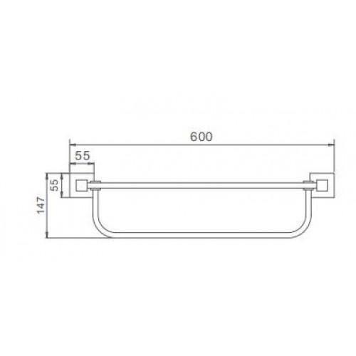 Полочка для ванной Frap F30324