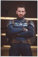 Автограф: Крис Эванс. Мстители: Война бесконечности