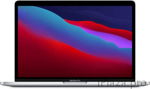 "Apple MacBook Pro 13"" (M1, 2020) 8 ГБ, 256 ГБ SSD, Touch Bar, серебристый, MYDA2RU/A"