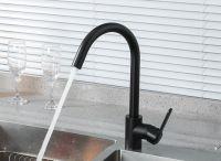 Смеситель для кухни Frud R42052-12 Черный матовый