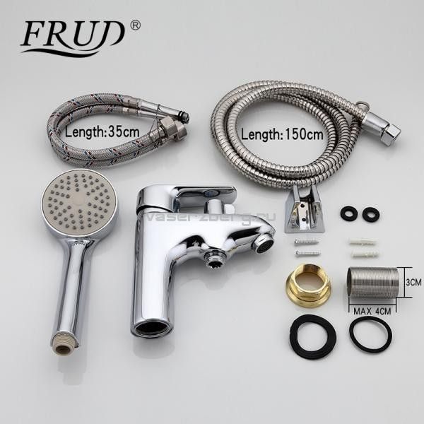 Смеситель для раковины с гигиеническим душем Frud R12105