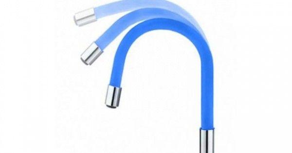 Гибкий синий излив Frap W01