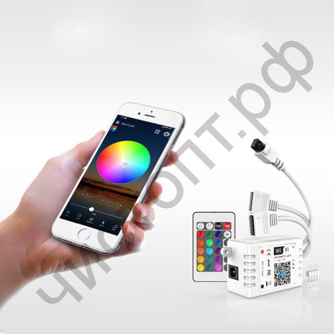 Контроллер OG-LDL27 LED (Wi-Fi, 2*RGB,пульт)