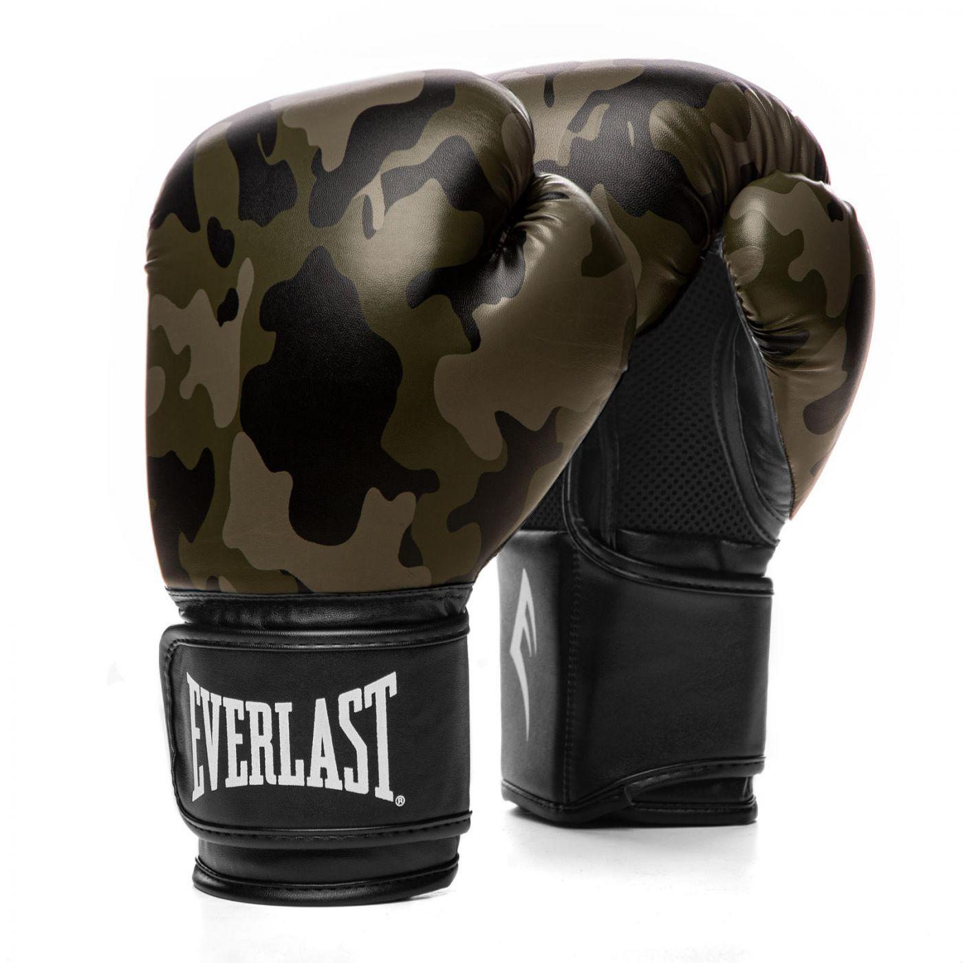 Перчатки тренировочные Everlast  Spark 10oz камуфляж, артикул P00002413