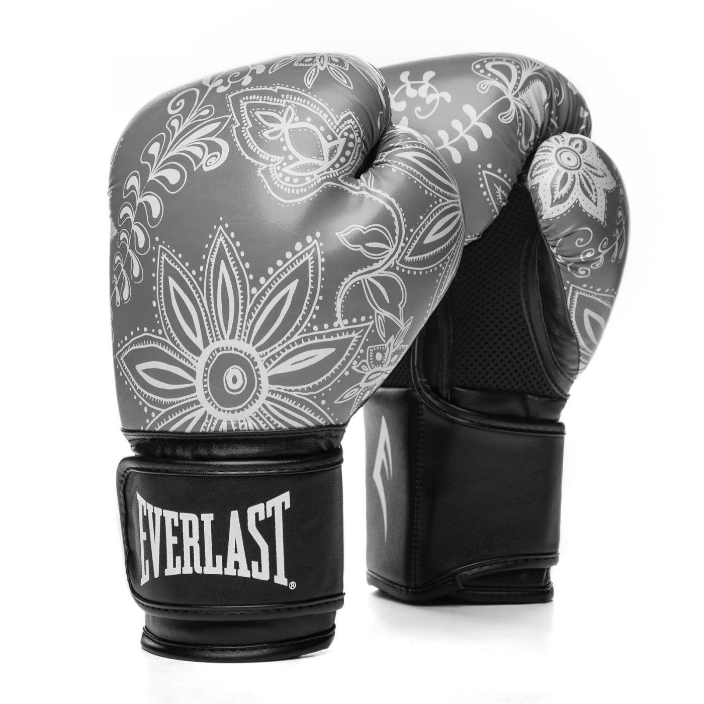 Перчатки тренировочные Everlast  Spark 10oz сер. узор, артикул P00002417