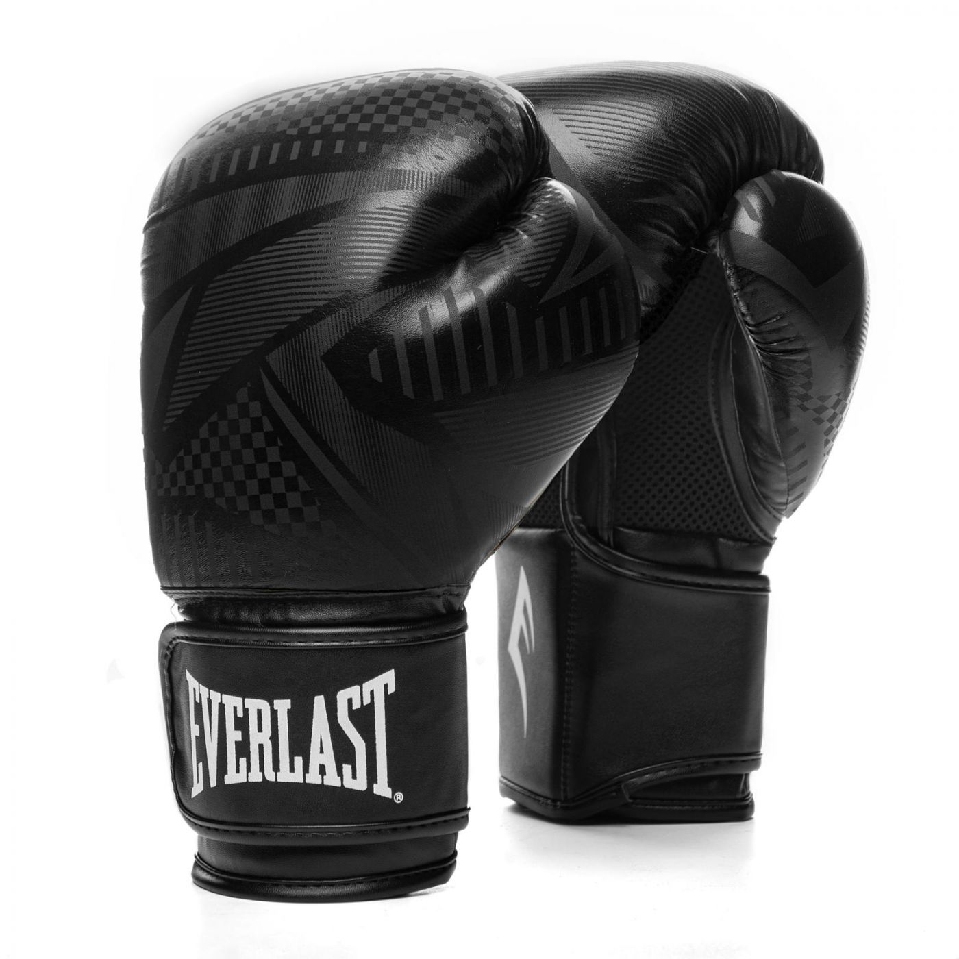 Перчатки тренировочные Everlast  Spark 16oz черн/гео, артикул P00002408
