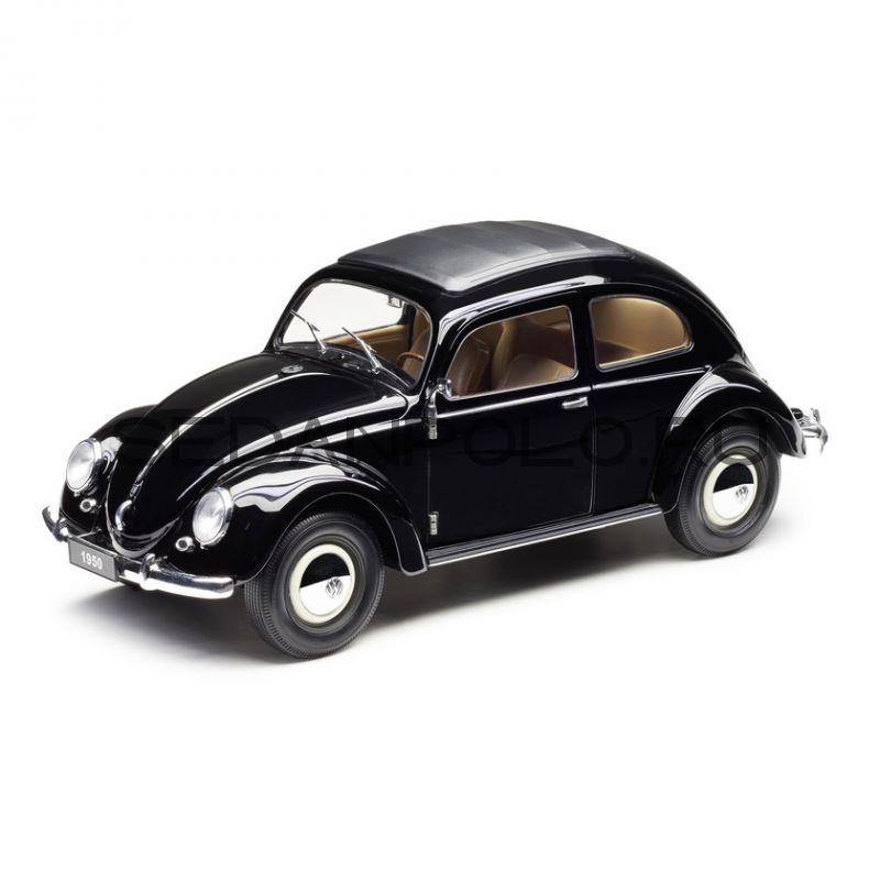 Модель автомобиля Volkswagen Beetle 1950, Scale 1:18, Black
