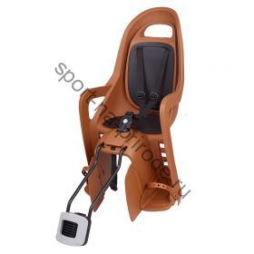 """Заднее велокресло Polisport Groovy Maxi FF 29"""" темно-оранжевый/черный"""