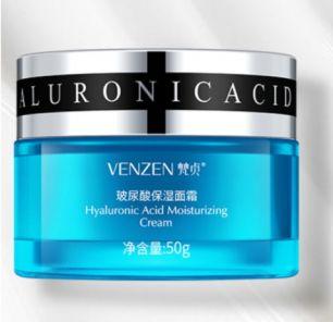 Глубоко увлажняющий крем для лица с гиалуроновой кислотой Venzen.(22252)