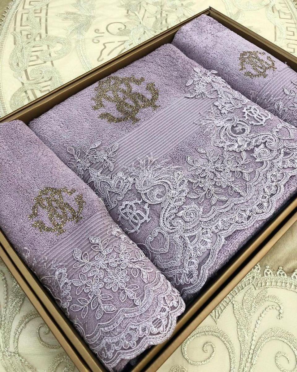 красивые полотенца украшенные стразами
