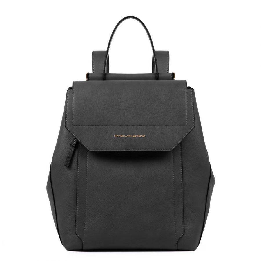 Женский кожаный рюкзак Piquadro CA4579W92/N черный