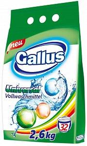 Gallus Стиральный порошок универсальный 32 стирки 2,6 кг