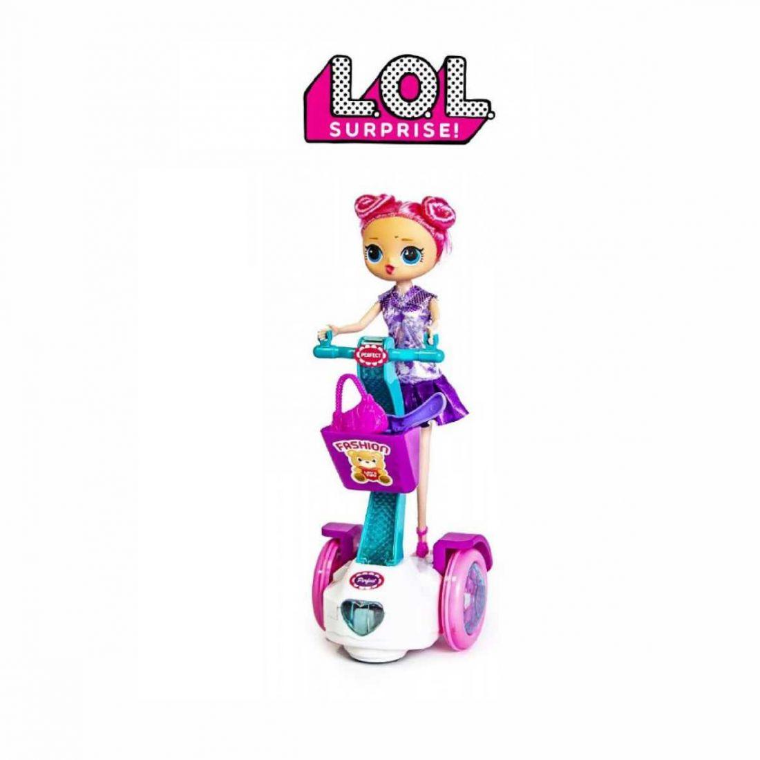 Сюрприз LOL Гироскутер и кукла