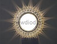 Точечный Светильник OREOL Crystal GX2331 122/80mm Под Лампу GХ53 H4 Белый