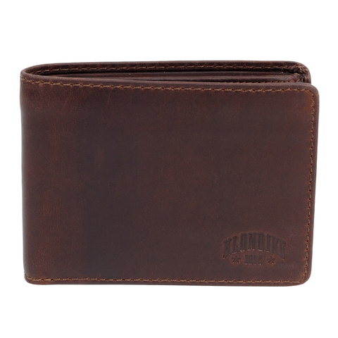 Бумажник Klondike Digger Angus, темно-коричневый